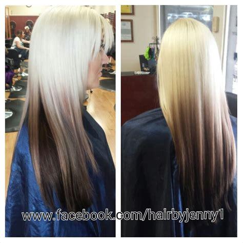 reverse ombre hair color for blonde hair 199 best hair tips images on pinterest hair cut medium