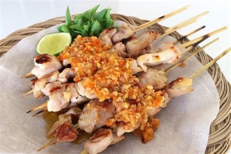 rahasia lezatnya resep sate taichan ayam  la abang senayan