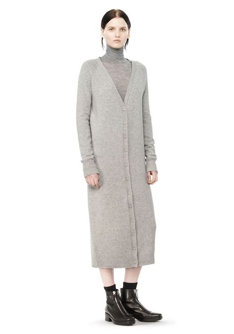 Maxi Dress Cardigan cashwool maxi cardigan dress dress wang