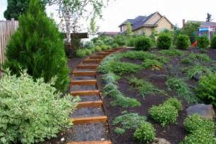 Landscape Pictures Slope Landscaping Ideas For Slopes Outdoor Decorating Ideas