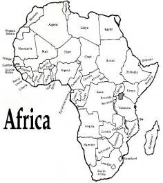 Fill In The Blank Africa Map Quiz by Swindon Sub Saharan Africa International Network On