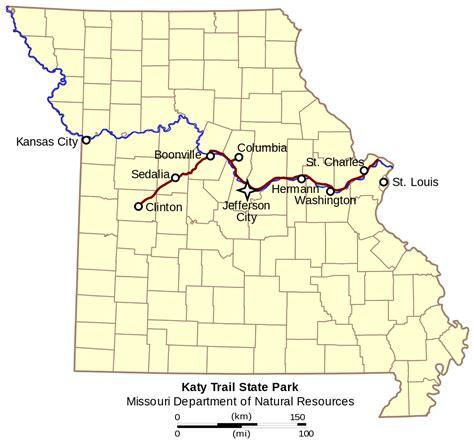 Free Search Missouri File Katy Trail State Park Missouri Svg