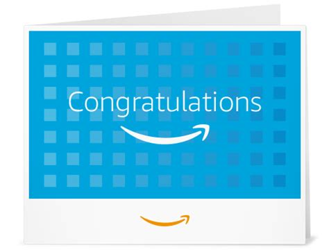 Amazon Ca Gift Card - amazon ca gift card print congratulations squares amazon ca gift cards