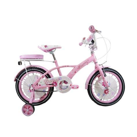Kaos Anak Sepeda Pink jual family sepeda anak pink 16 inch harga kualitas terjamin blibli