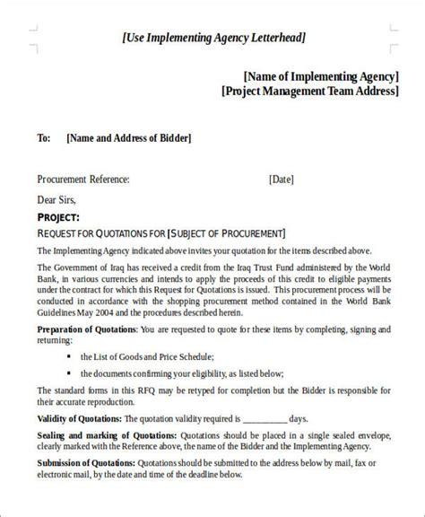 sle rfq template quotation request letter ideal vistalist co