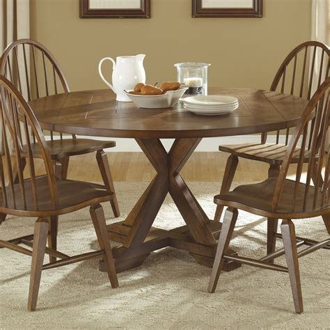 Liberty Dining Table Liberty Furniture Hearthstone Drop Leaf Pedestal Dining Table Atg Stores