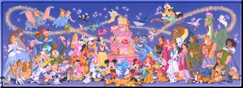 disney wallpaper all characters dimonheacont disney characters wallpaper