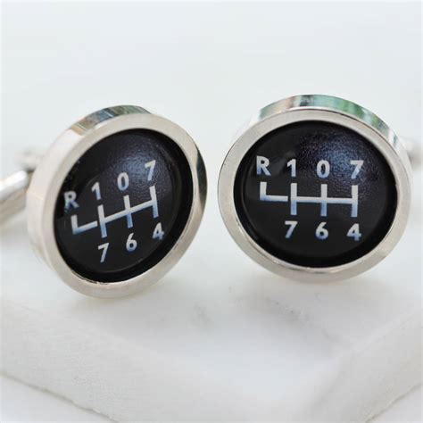 Personalised Gear Stick by Personalised Gear Stick Cufflinks By Me And Car