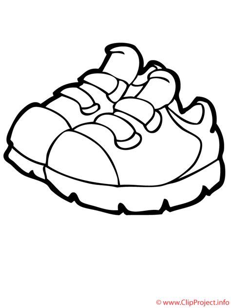 imagenes de unas zapatillas para dibujar zapatos deportivos dibujo para colorear gratis