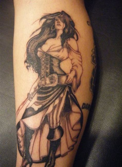tattoo girl warrior 25 mind blowing leg tattoos for men creativefan