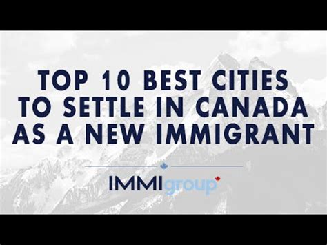 Top Mba In Canada by Top 10 Best Cities To Settle In Canada As New Immigrant