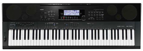 Keyboard Casio Wk 7500 casio wk 7500 image 246830 audiofanzine