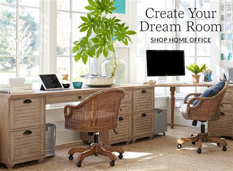 Design Inspiration For Home Office by Home Office Design Ideas Inspiration Pottery Barn