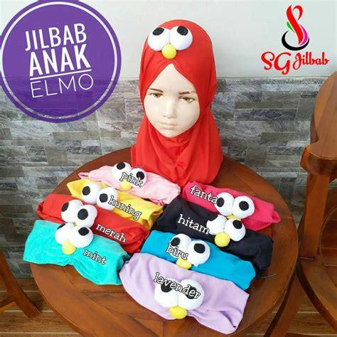 Elmo Syiria Jilbab Elmo Anak jilbab anak elmo 183 sentral grosir jilbab i produsen jilbab
