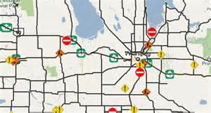 canada highway conditions map maps mania manitoba road conditions on maps