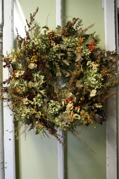 Dried Wreaths Front Door Pin By Ohio Originals On Fall