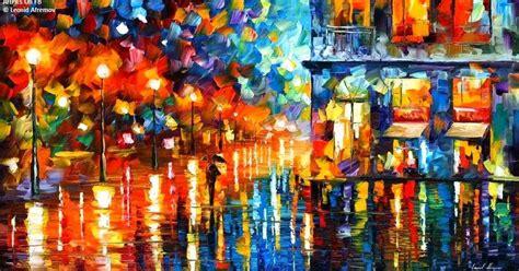 Lukisan Abstrak Ma 10 10 lukisan abstrak terindah leonid afremov