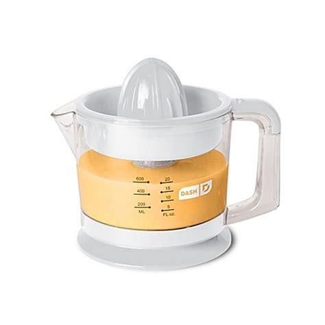 juicers at bed bath and beyond buy dash go citrus juicer in white from bed bath beyond