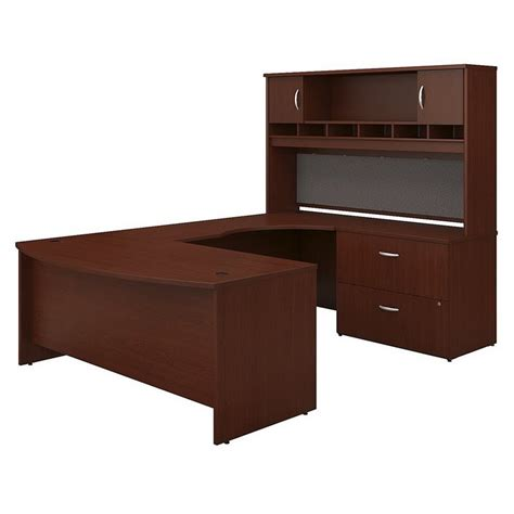 Bush Business Series C 72 Quot Right U Shaped Desk With Hutch U Desk With Hutch