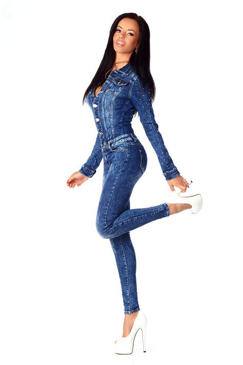 New Overall new s denim wash playsuit jumpsuit