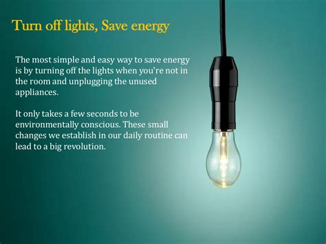 9 Top Turn Offs by Turn Lights Save Energy