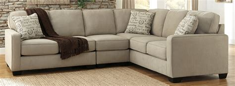 ashley furniture sectional couches buy ashley furniture 1660055 1660046 1660067 alenya quartz