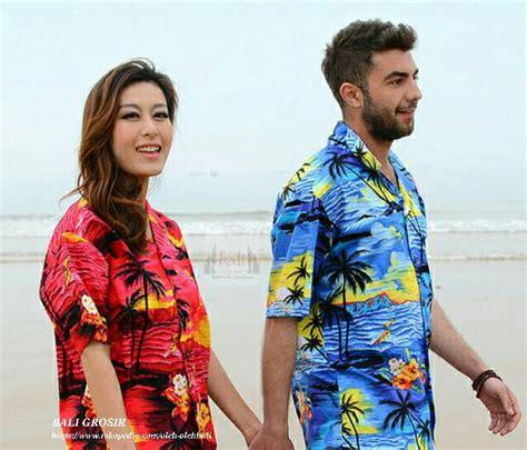 Kemeja Pantai Pria Ukuran jual baju kemeja pantai bali pakaian hawai bali grosir
