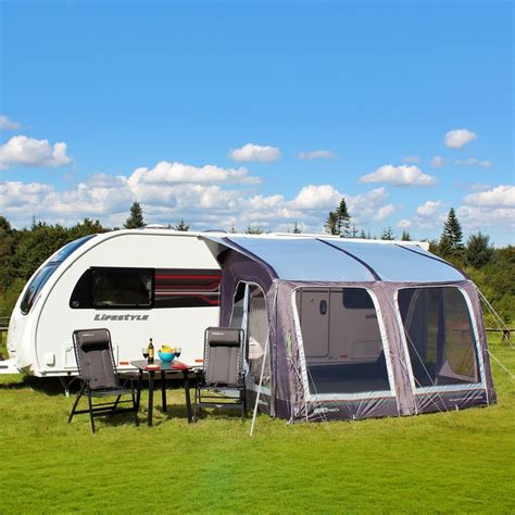 caravan awning groundsheet outdoor revolution e sport air 325 inflatable caravan