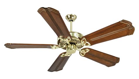 polished brass ceiling fans craftmade k10981 eiling fan in polished brass with 56
