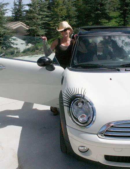 Bulu Mata Mobil Car Eyelash Unik Lu Mobil Unik Ada Bulu Mata Layaknya Manusia