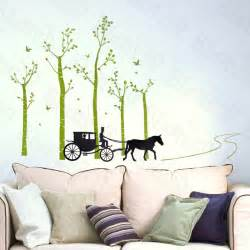home accents wall: country road large wall decals stickers appliques home decor