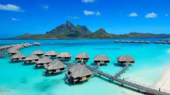 Belize Tiki Huts Bora Bora By Phin Upham Phin Upham Photography