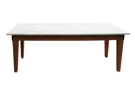 zinc top sofa table omero home