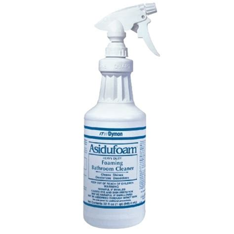 heavy duty bathroom cleaner asidufoam heavy duty bathroom cleaner dym 33732 d