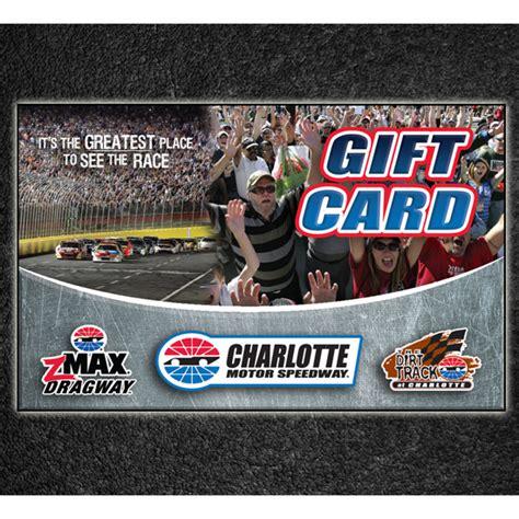 Speedy Gift Card - charlotte motor speedway gift card speedway world