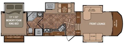 fifth wheel floor plans front living room 2013 dutchmen rv infinity 3750fl front living room fifth wheel for sale only 64 995 http www
