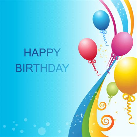 template photoshop happy birthday happy birthday background vector template 123freevectors