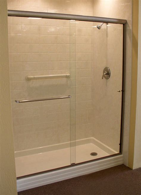 shower in bathtub tub to shower conversion hollywood fl bath crest