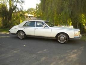 Cadillac Mileage 1985 Cadillac Seville 163 380 Mileage White Vinyl Top 4