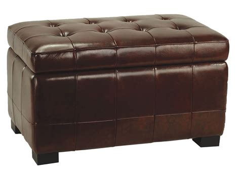 Leather Ottoman Coffee Table 36 Top Brown Leather Ottoman Coffee Tables