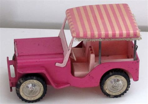 pink toy jeep tonka toys on pinterest tonka trucks tin toys and