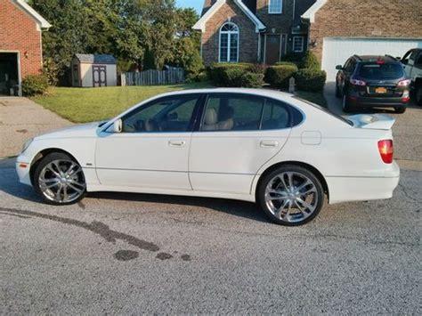 2000 lexus gs300 fuel buy used 2000 lexus gs300 platinum edition sedan 4 door 3