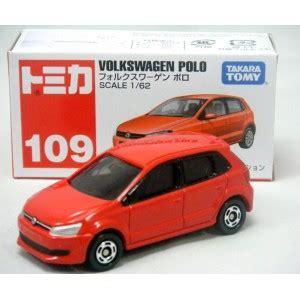 Tomica Volkswagen Polo Merah 109 tomica 109 volkswagen polo global diecast direct