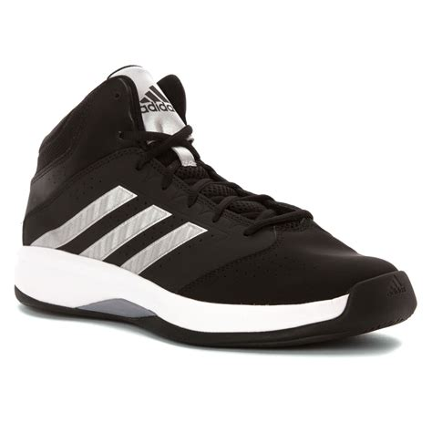 adidas wide basketball shoes lyst adidas isolation 2 wide in black for
