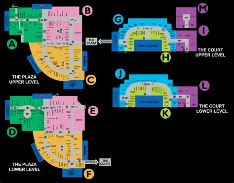 King Of Prussia Gift Card - mall map of king of prussia 174 a simon mall king of prussia pa