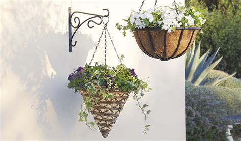 how to a hanging l how to plant a hanging basket help ideas diy at b q