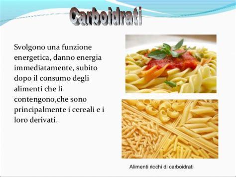 alimenti ricchi di carboidrati alimentazione cibi sani e alimentazione corretta