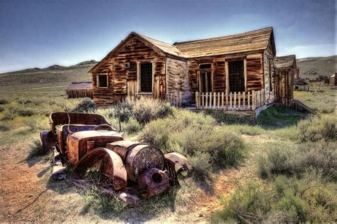 Online House Plans by Bodie California Ghost Town House Photograph By Dan Carmichael