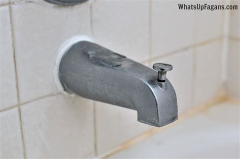 the cheap easy way to get your faucet shiny again