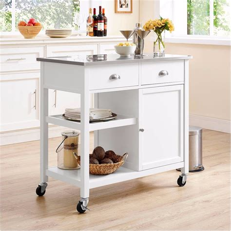 small mobile kitchen islands kitchen islands for small kitchens popsugar home